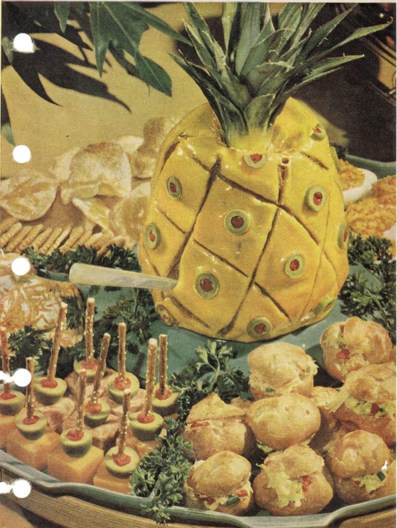 sausage pineapple