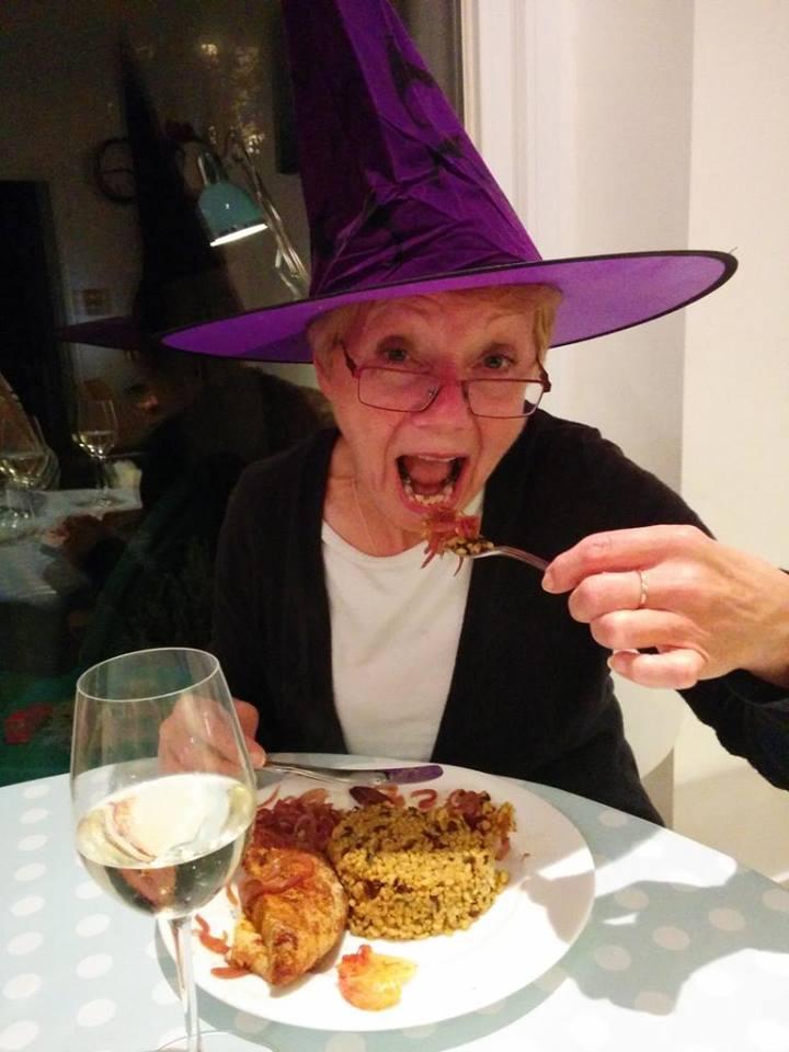 Witch hat selfie