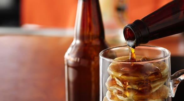 Beer and Bacon 'Mancakes'