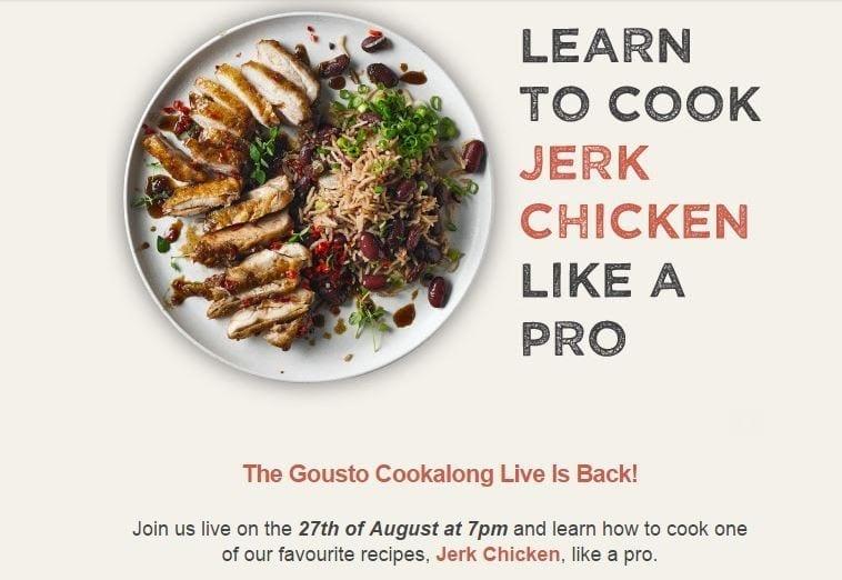 Jerk Chicken Cookalong