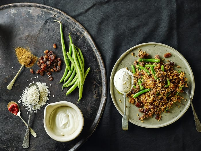 15 minute meals: easy lamb biryani