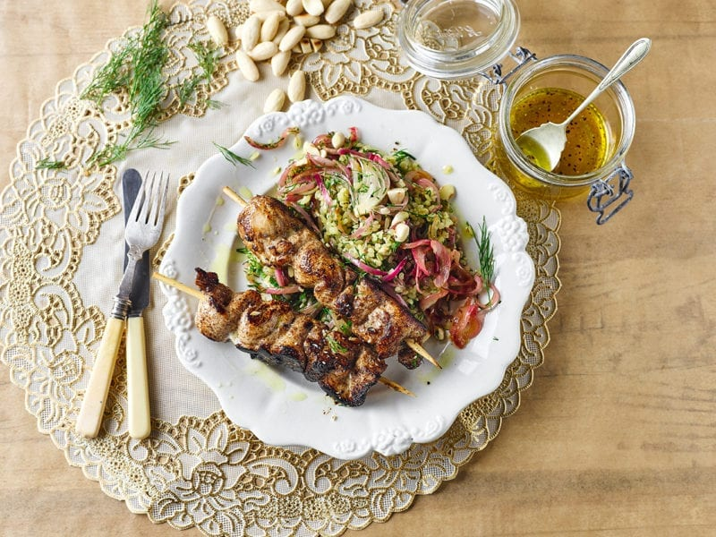 Our Scrumptious Baharat-Spiced Chicken Skewers