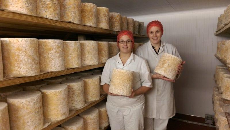 Cheesemakers at the Hartington Creamery