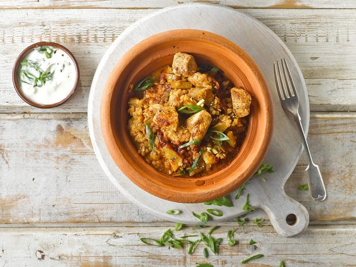 Quick Dinners: Easy Harissa Chicken Curry