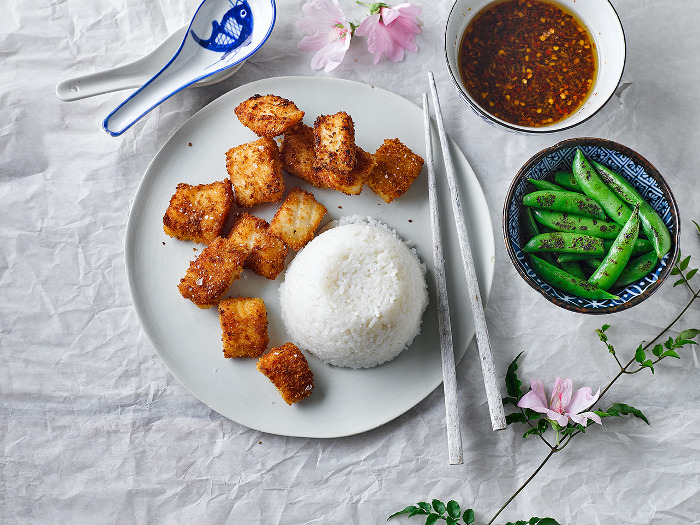 Fish nuggets With Asian Dipping Sauce