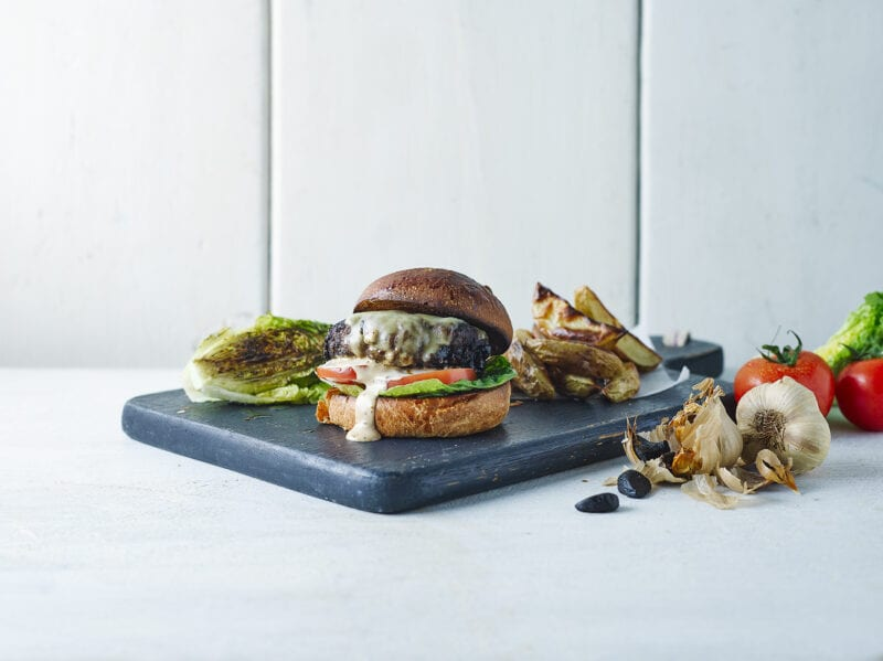 Balsajo Black Garlic Burger