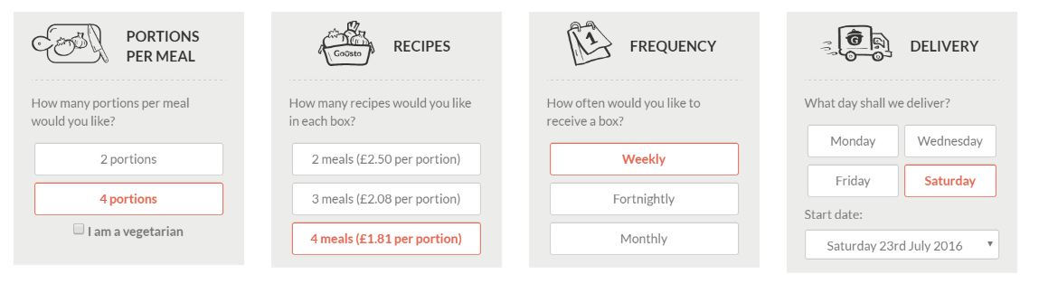 recipe kit subscription