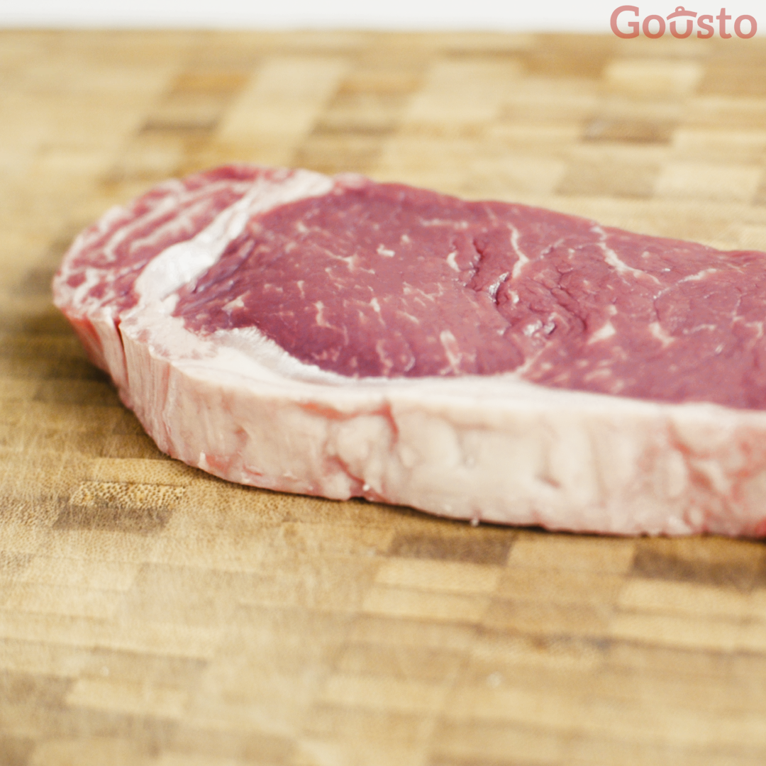 how to cook the perfect sirloin steak - step 1