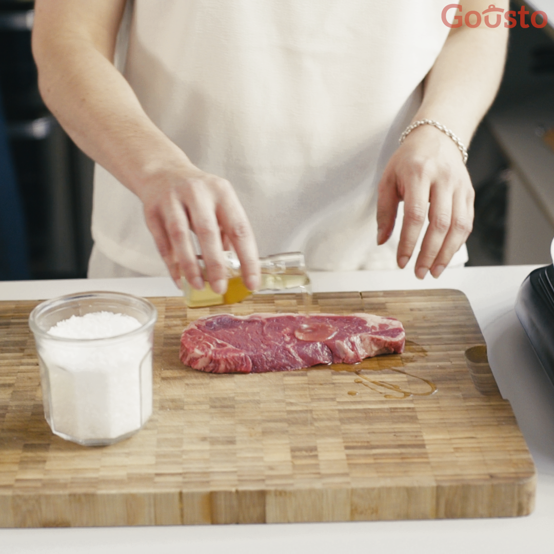 how to cook the perfect sirloin steak - step 2
