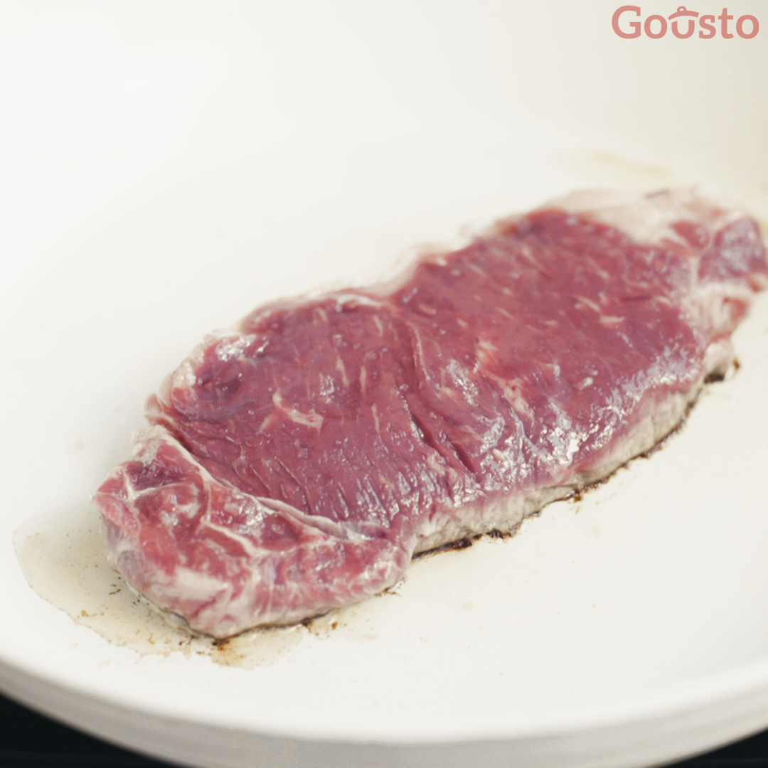how to cook the perfect sirloin steak - step 3