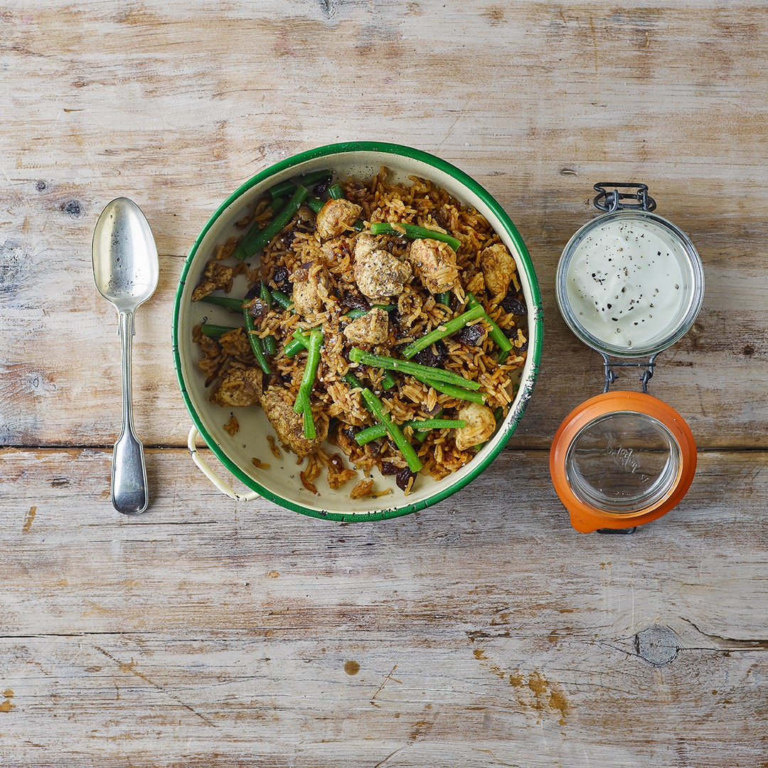 One Pot Meals: One Pot Easy Chicken Biryani