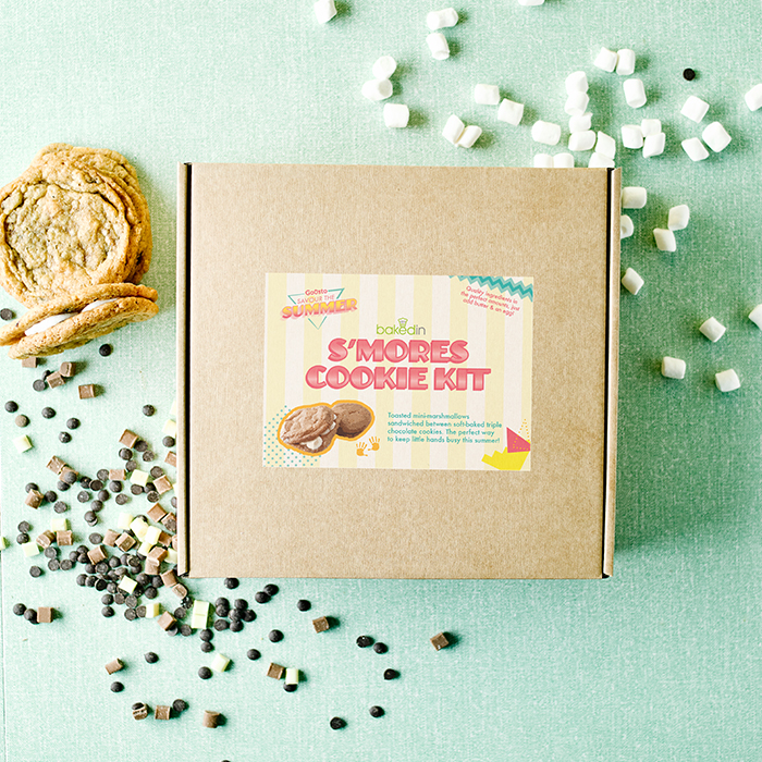 summer smores cookie kit
