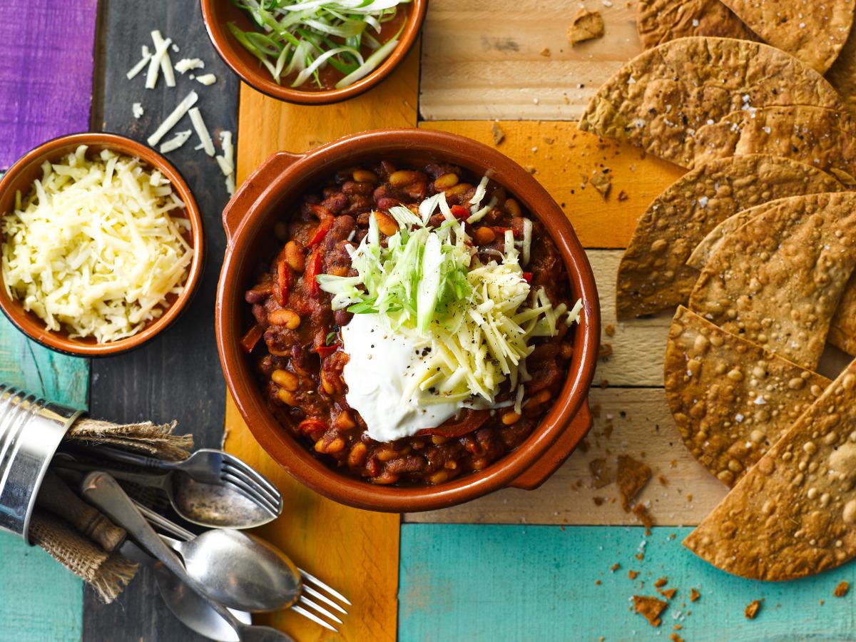15 minute meals: cowboy bean bowl