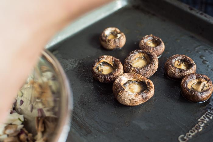 slider mushrooms for mini burgers