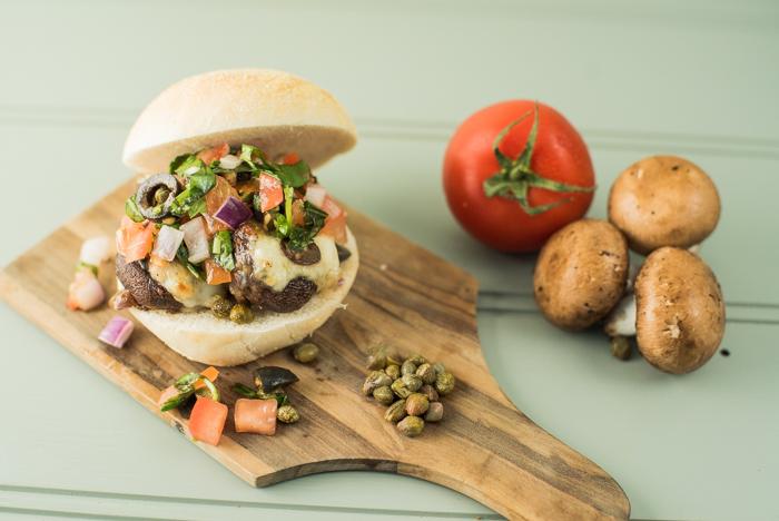 melty mushroom mini burger recipe