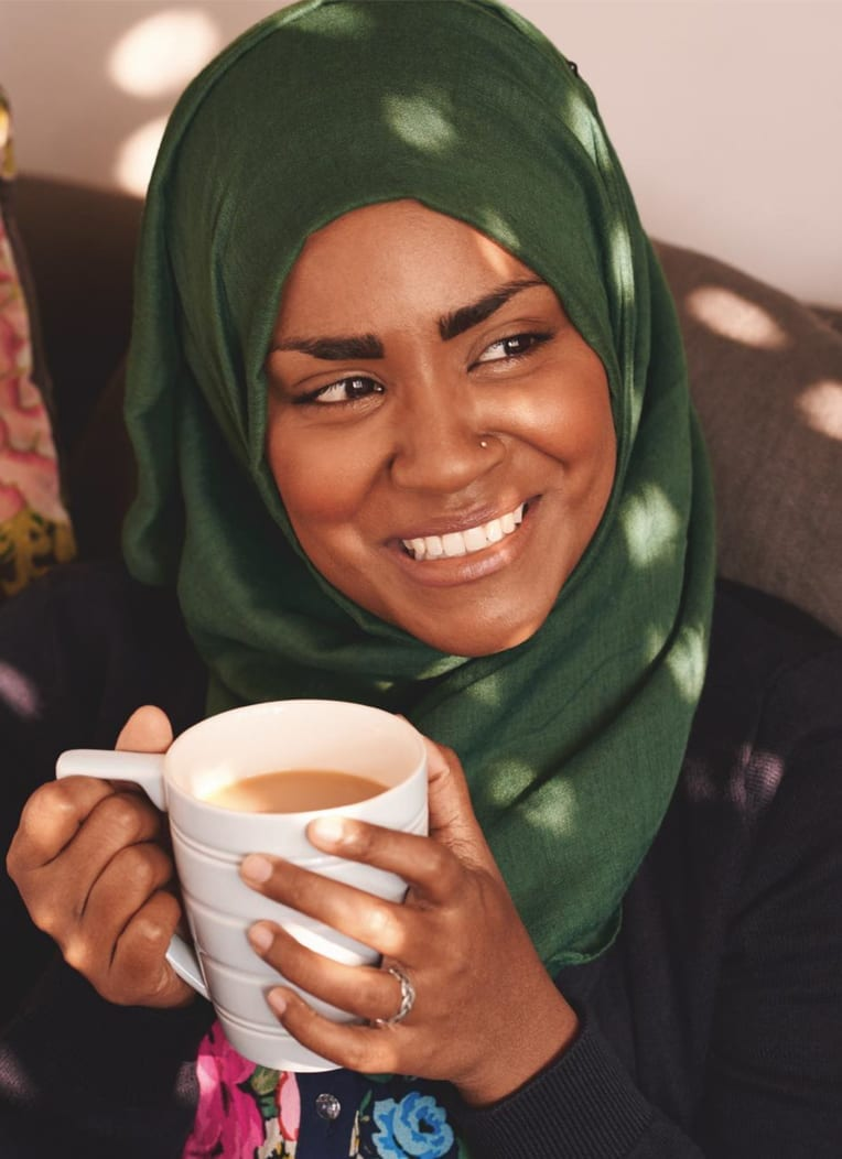 Nadiya Hussain Great British Bake Off Winner