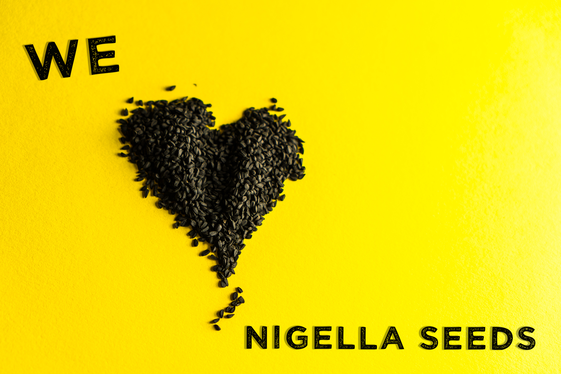 we heart nigella seeds