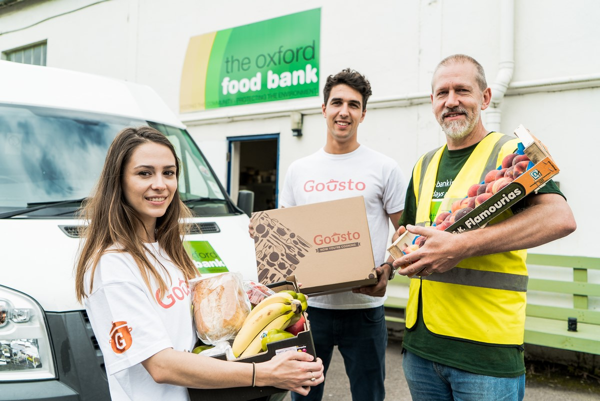Gousto Oxford Food Bank Partnership