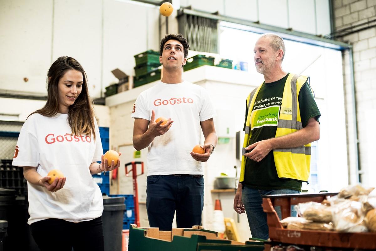 Gousto Oxford Food Bank