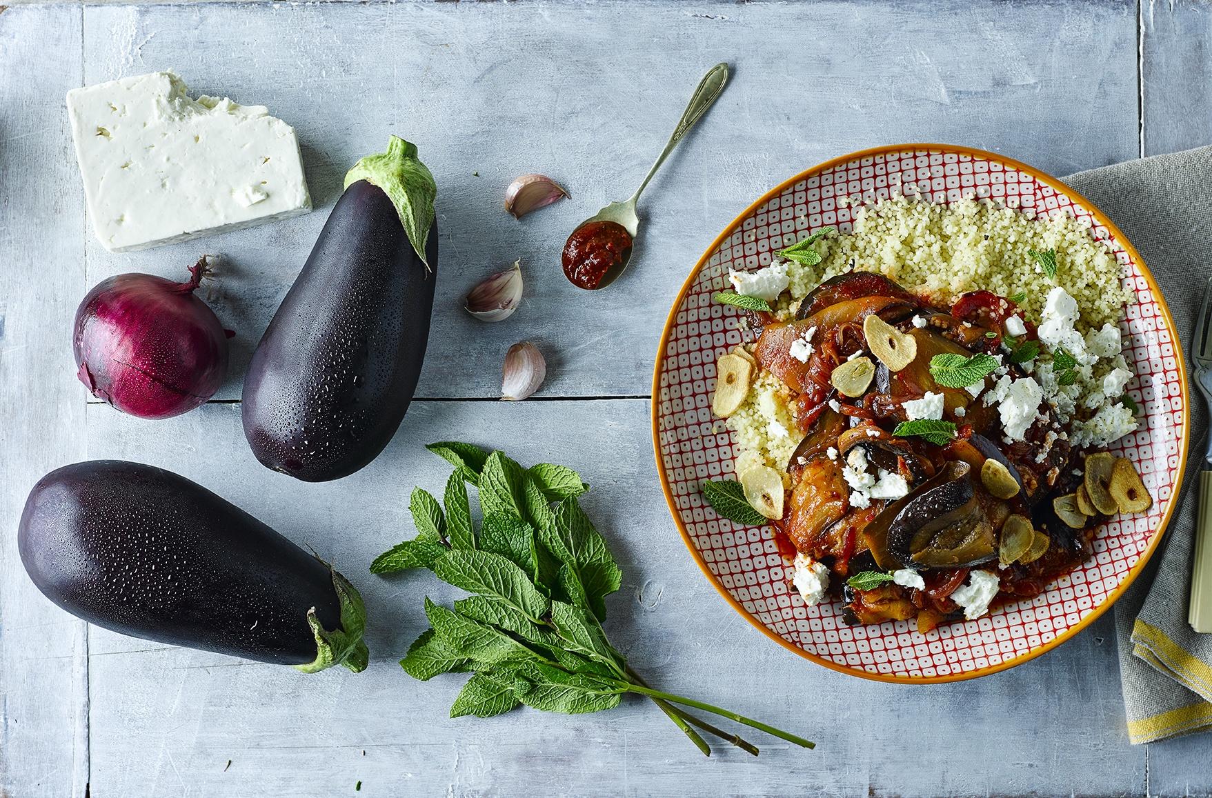 Gousto Recipes Aubergine & Harissa Stew