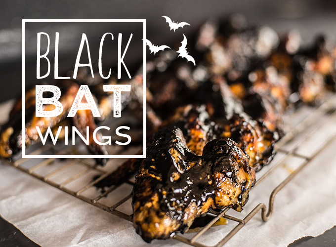 Halloween Chicken Wings Recipe