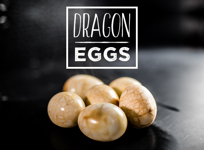 Halloween Dragon Eggs Recipe