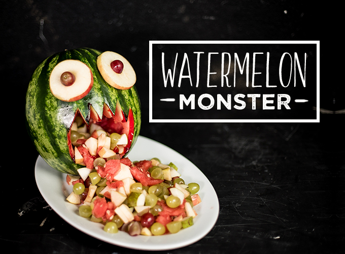 Halloween Watermelon Monster Recipe