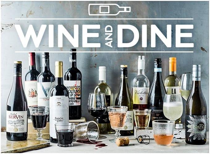 Wine and Dine Gousto Marketplace