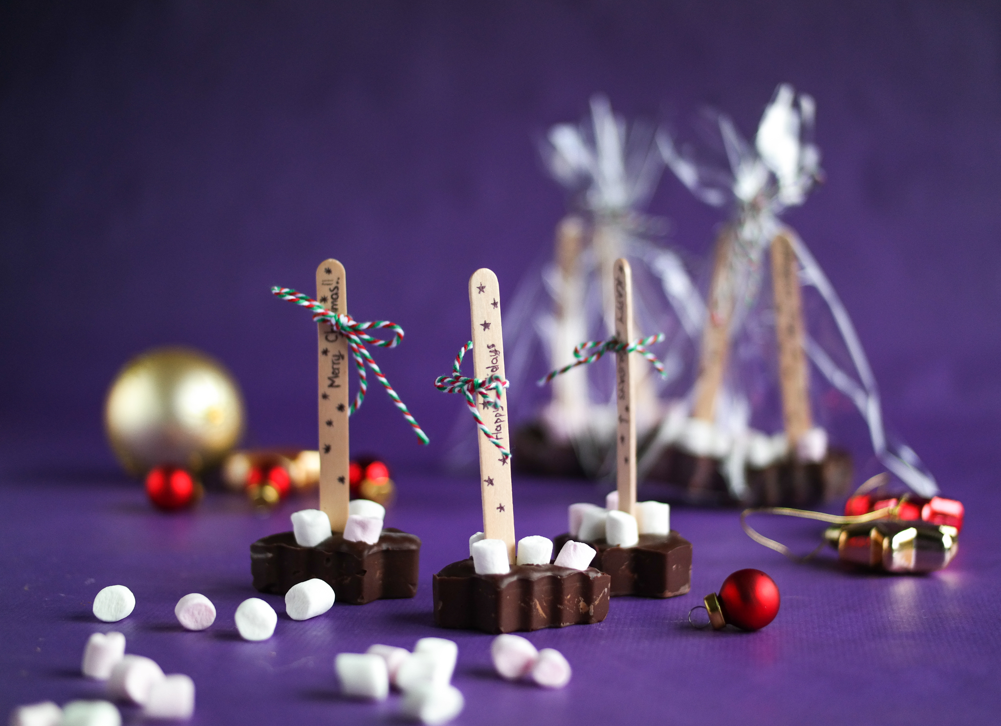 Christmas Hot Chocolate On A Stick