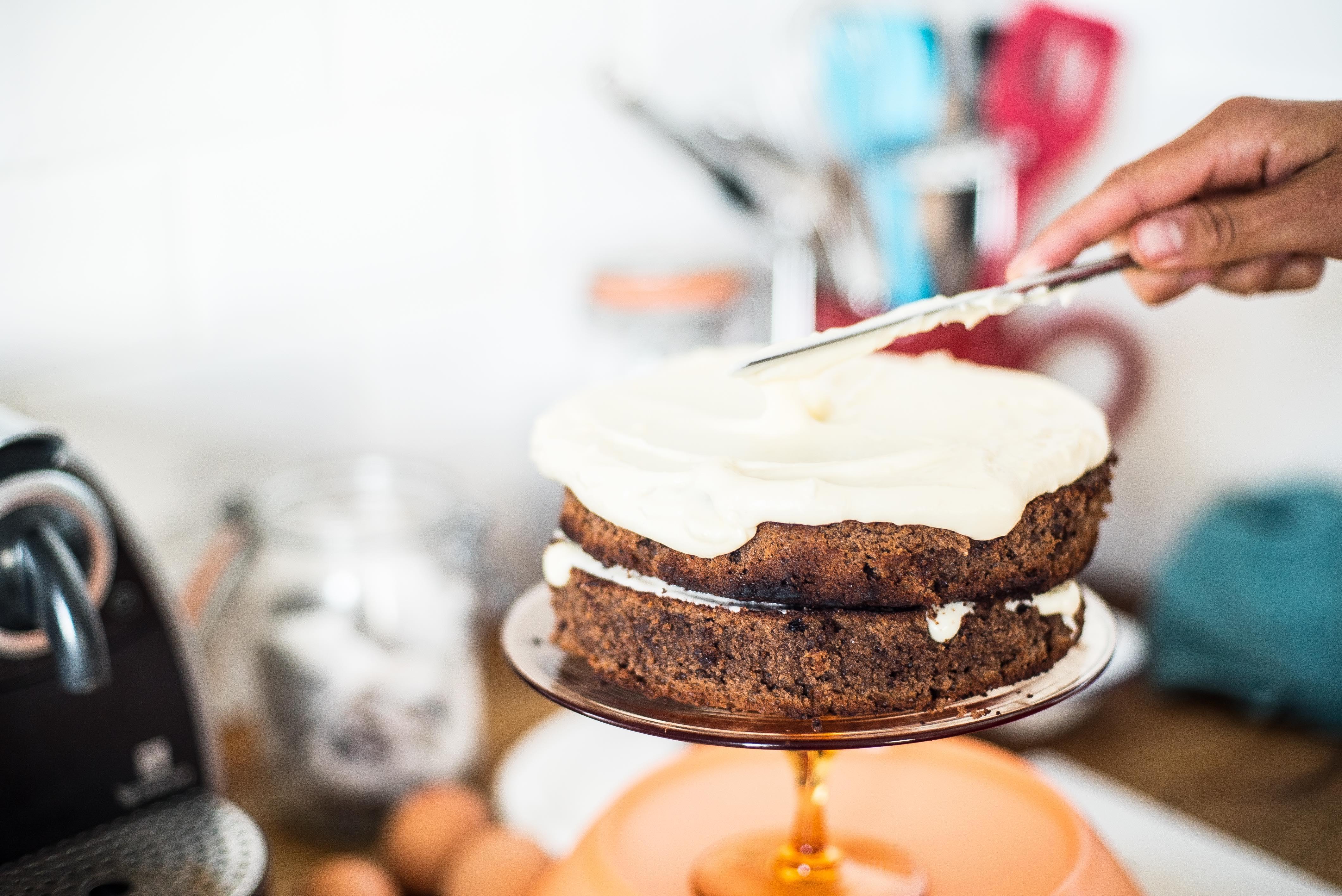 No Heart-Beet Halloween Cake Recipe