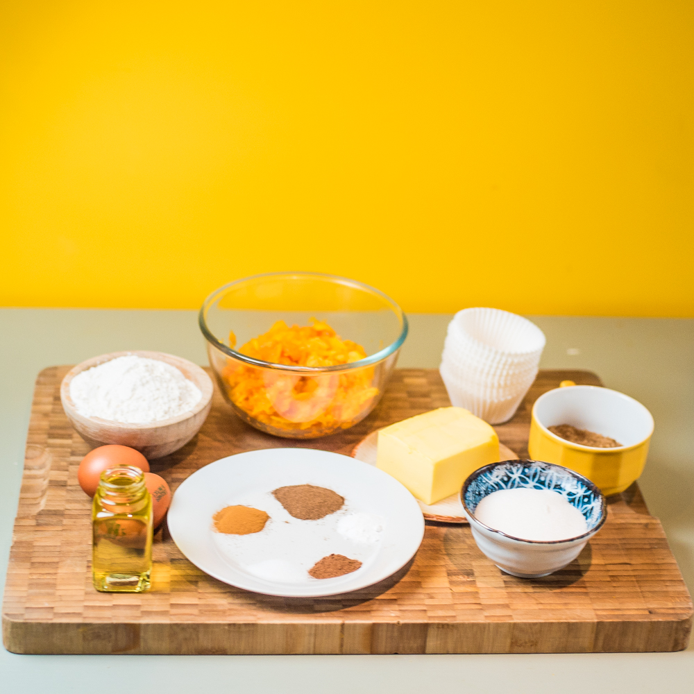 easy pumpkin cupcakes ingredients