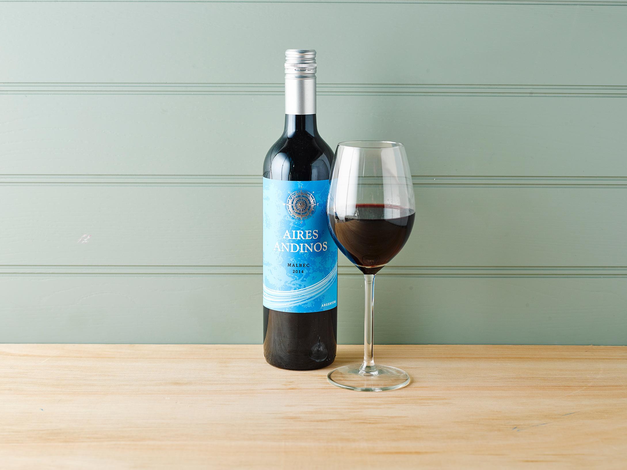 Gousto wines Aires Andinos Malbec
