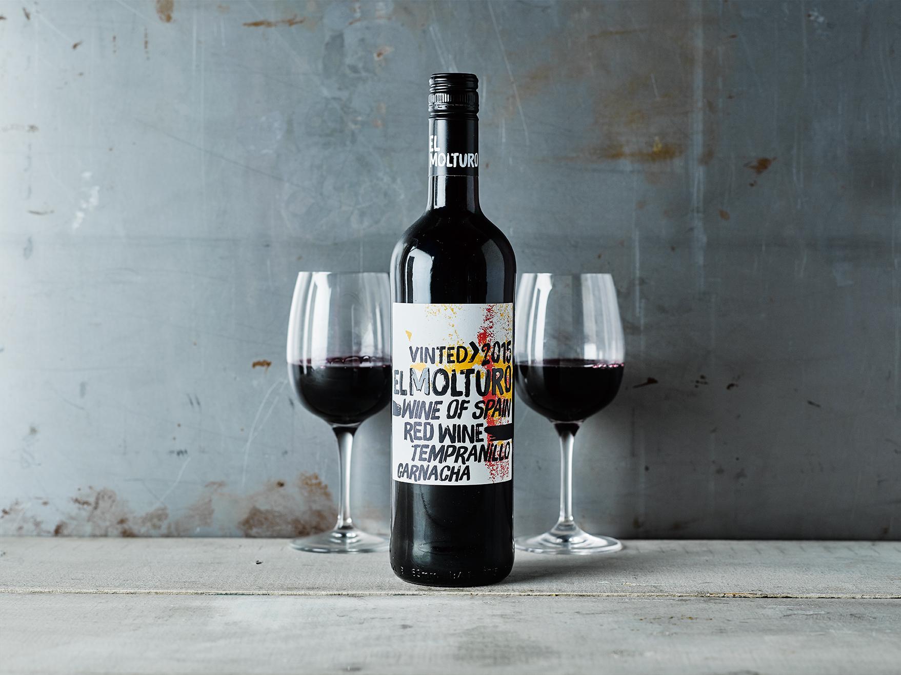 Gousto wines El Molturo Tempranillo Garnacha