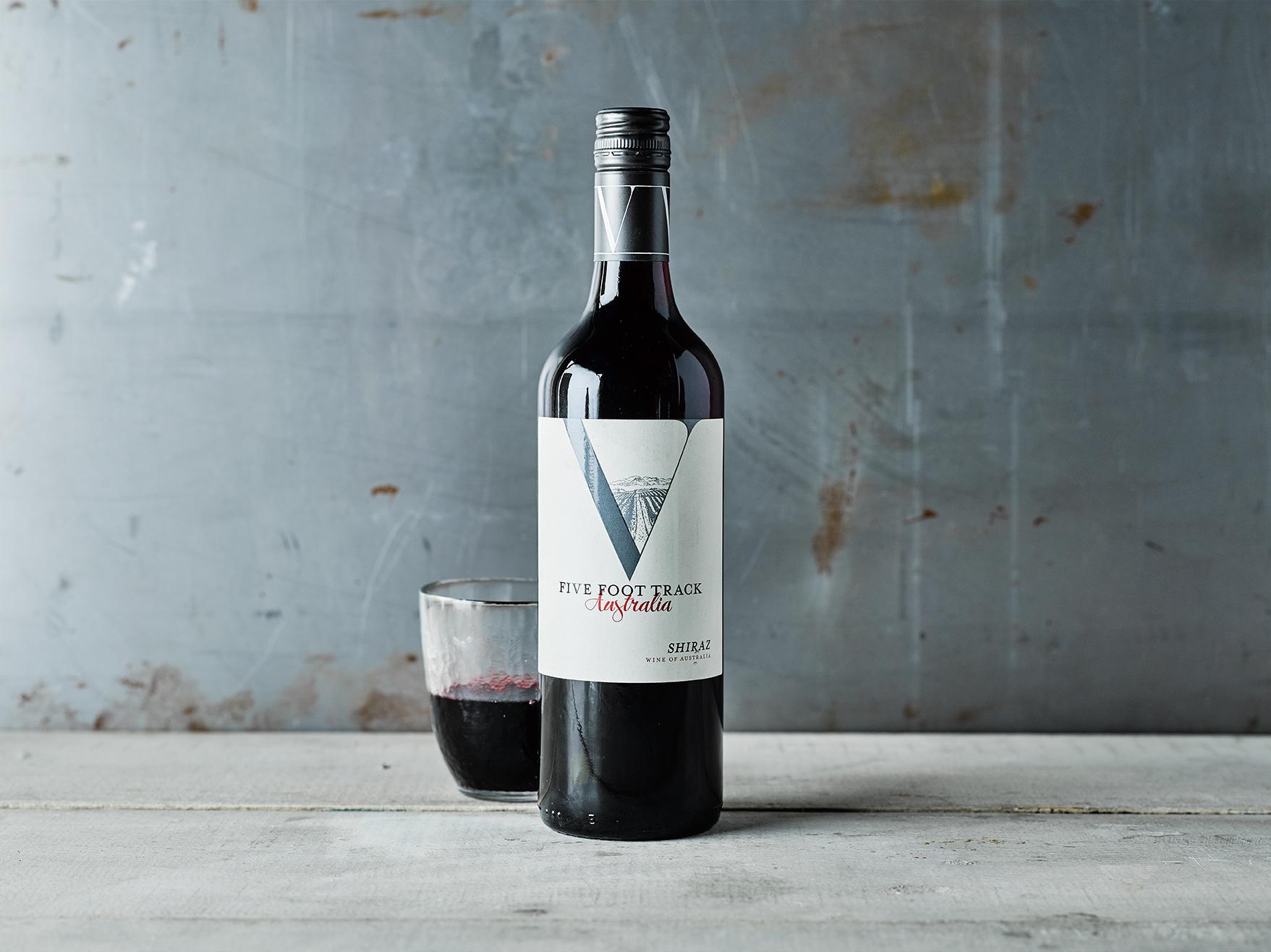 Gousto wines Five Foot Track Shiraz