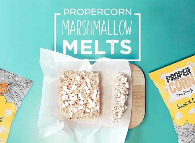 Gousto Propercorn Marshmallow Melts Recipe