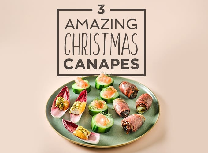 amazing christmas canape recipes