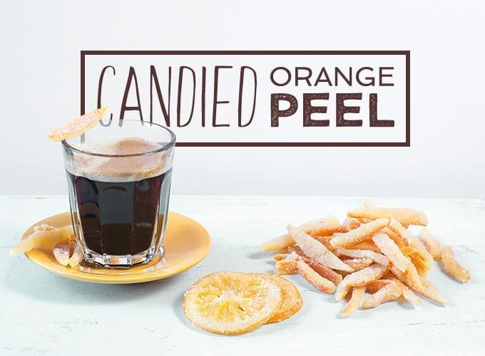 homemade candied orange peel recipe