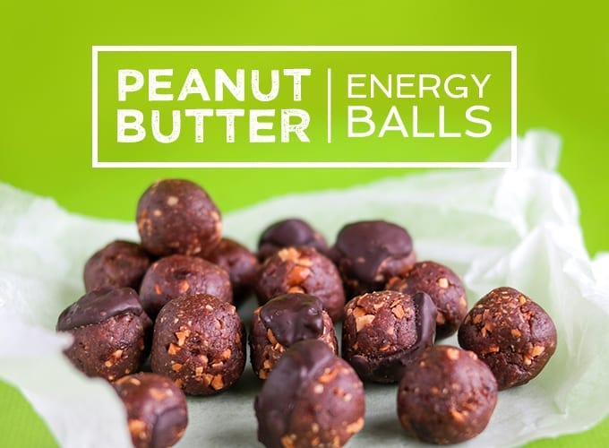 healthy peanut butter energy balls recipe