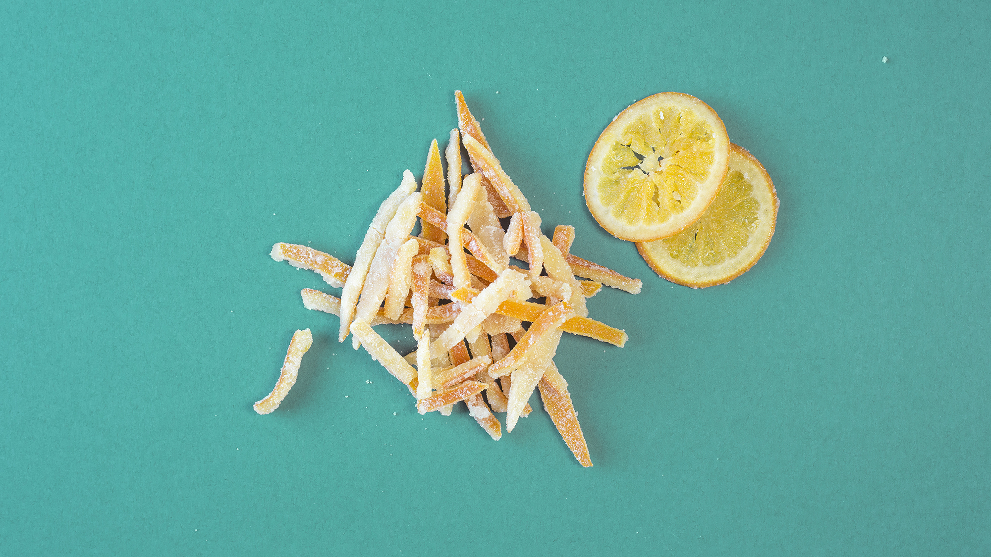 how to make candied orange peel recipe
