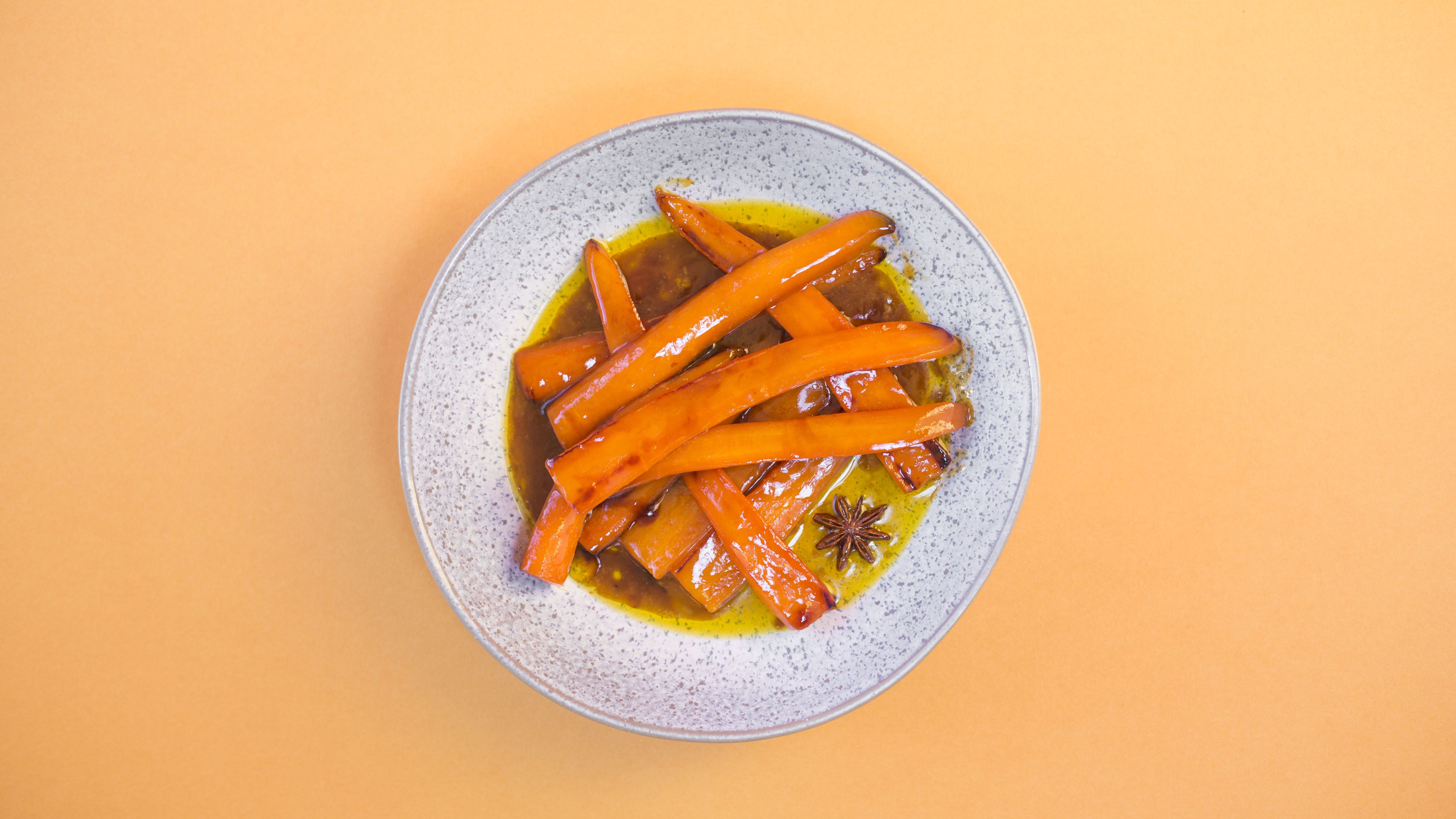 Carrots With Orange and Star Anise recipe
