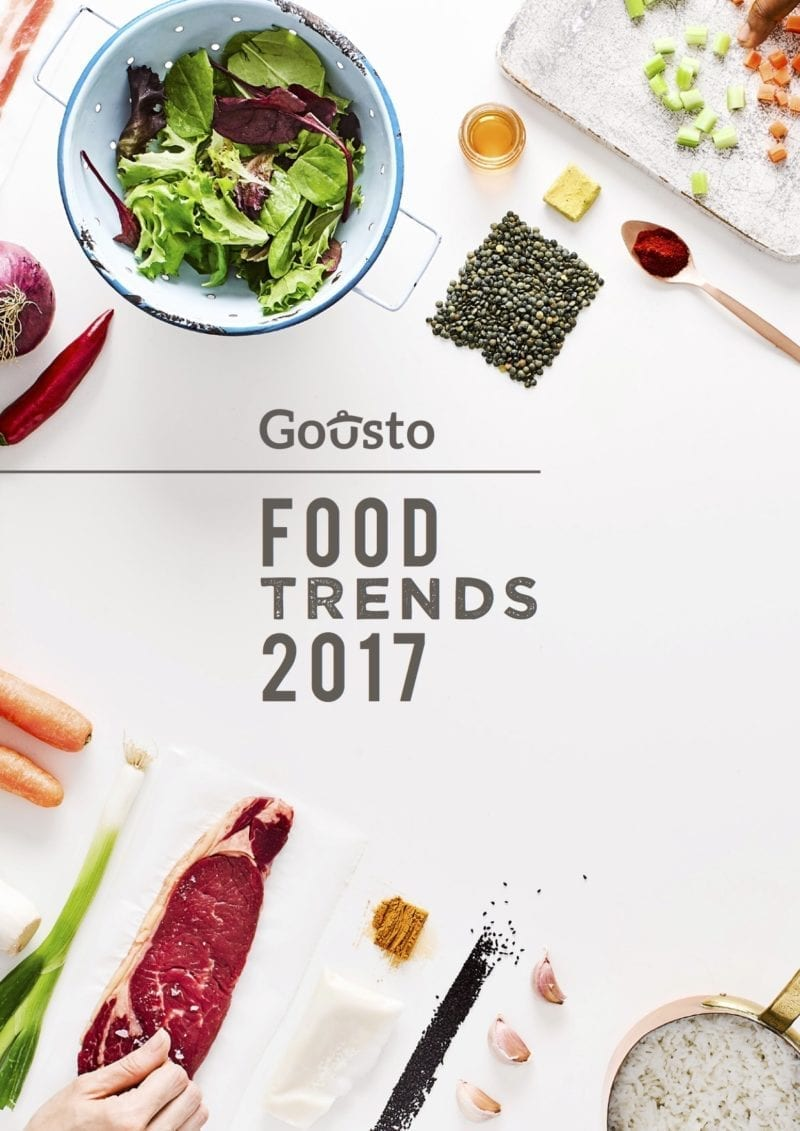 food trends report 2017