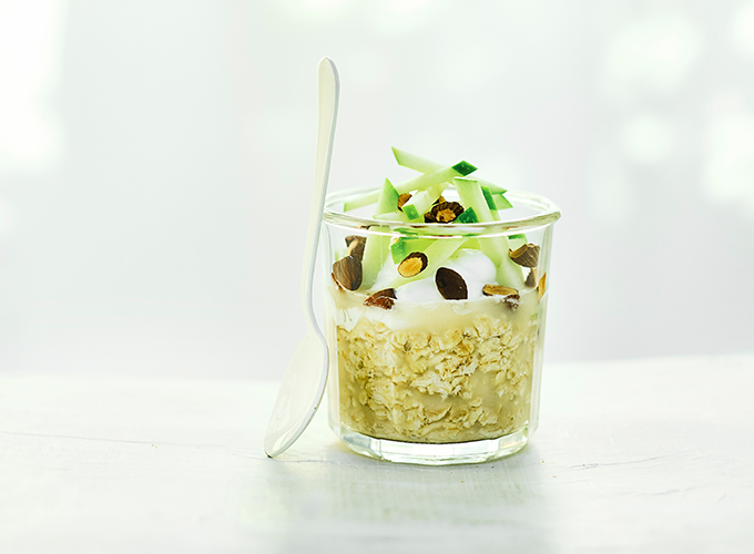 overnight apple soaked oats recipe