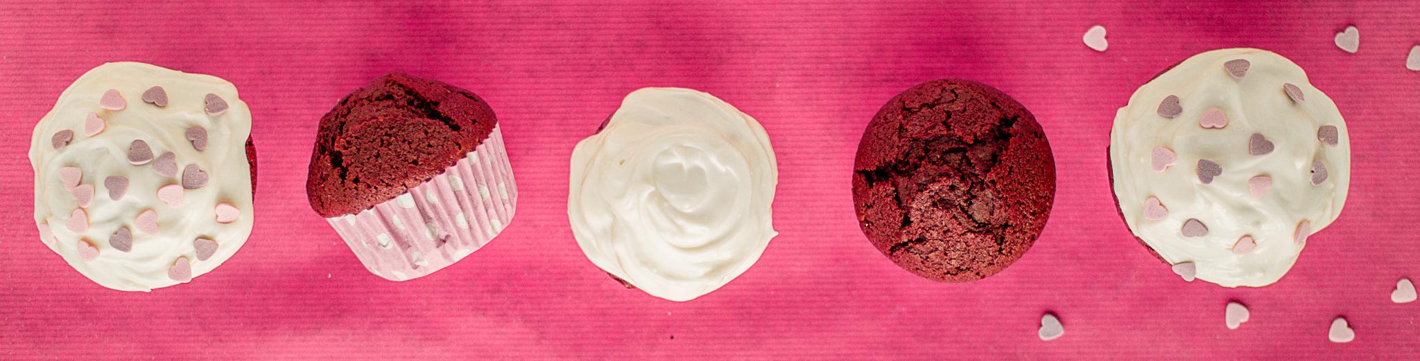 red velvet cake cupcakes valentines