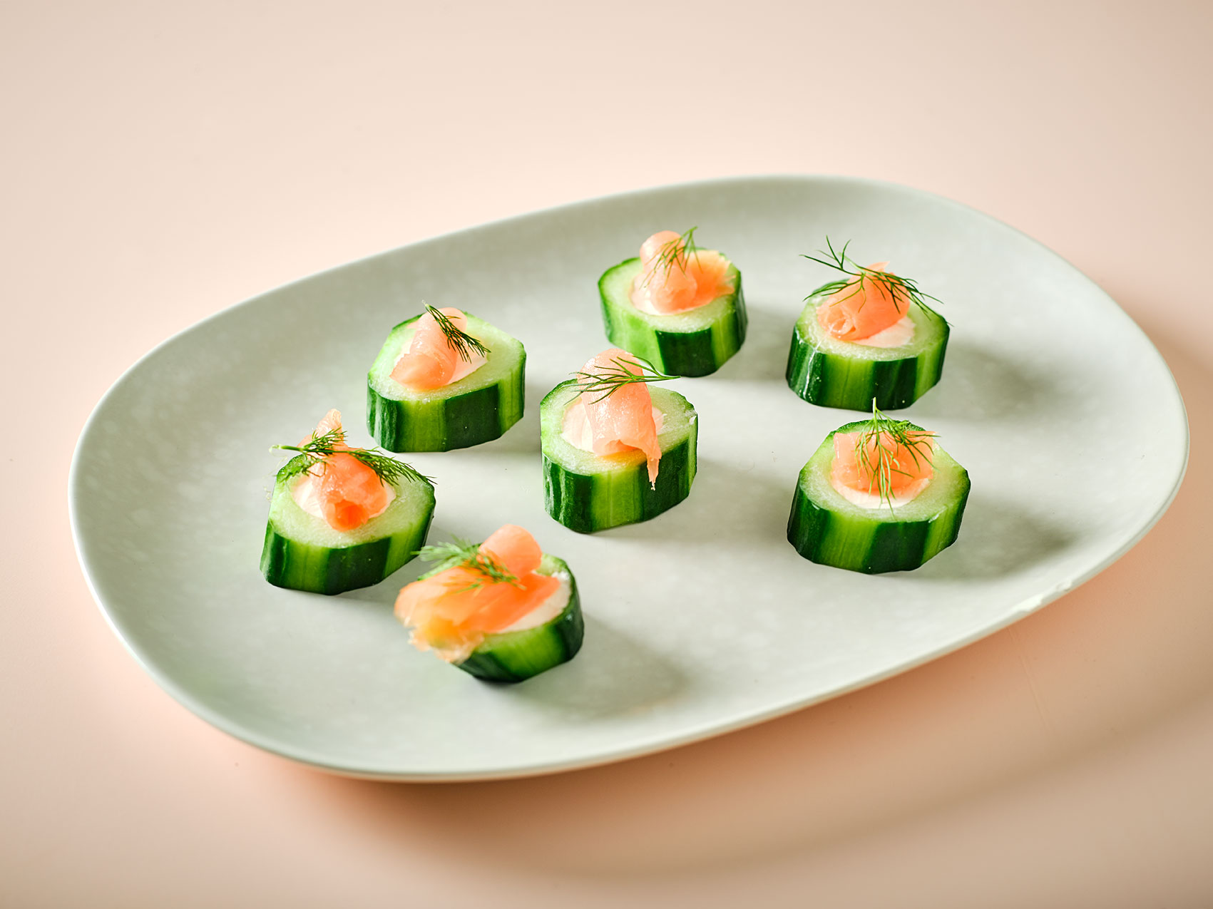 cool salmon bites canape recipe
