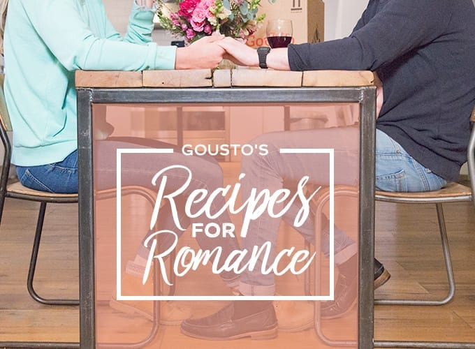gousto's recipes for romance