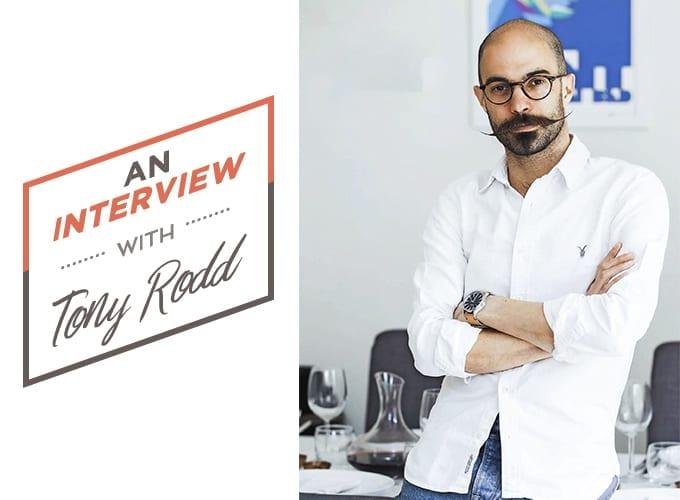An Interview with Tony Rodd masterchef finalist