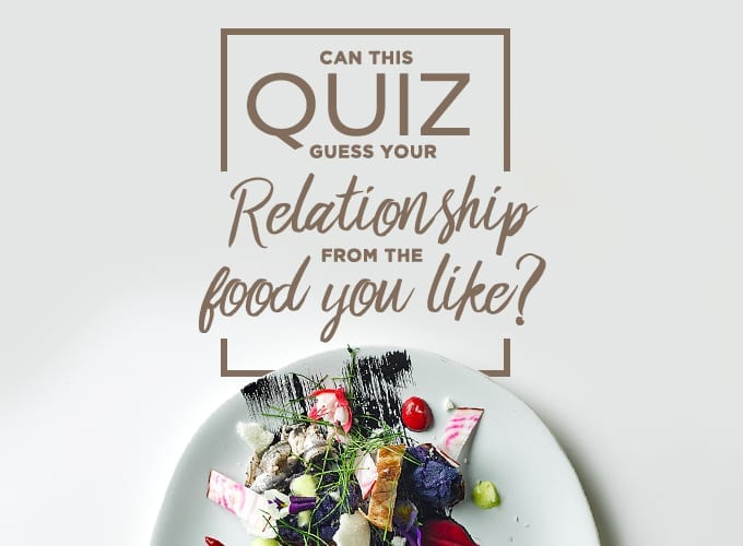 recipe for romance quiz