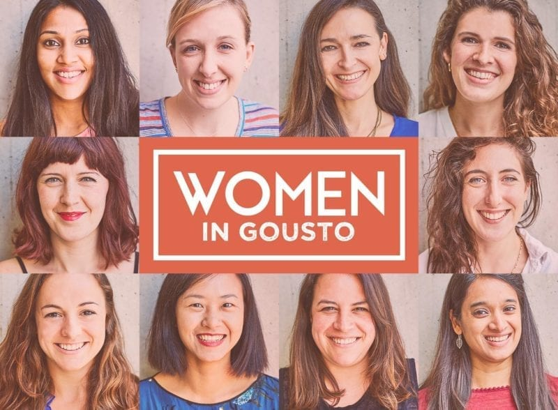 women in gousto international women's day