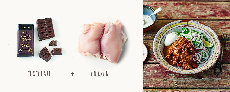 Green & Black's Chicken Mole Recipe