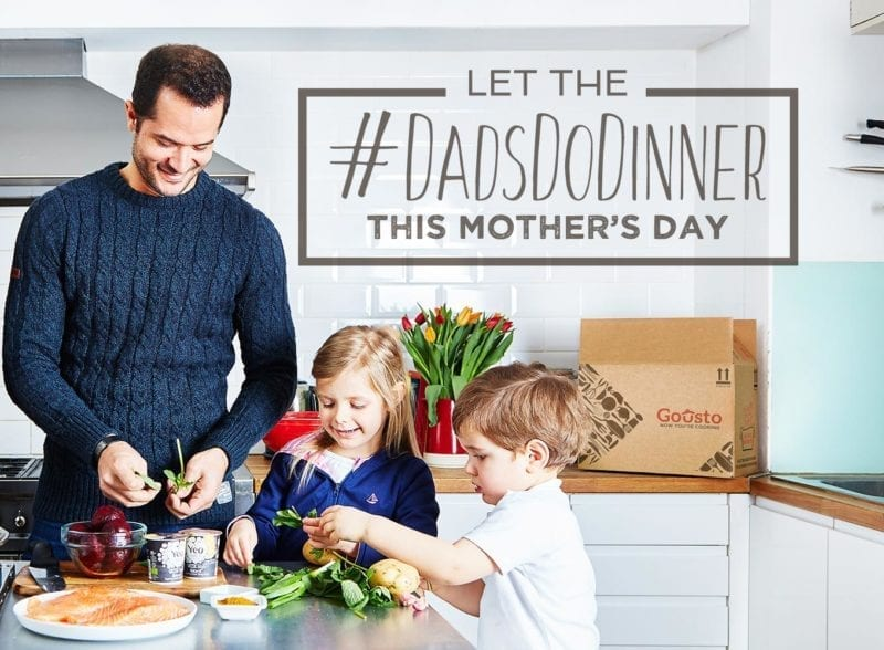 Let the #dadsdodinner this mother's day
